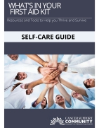 A Guide for Oncology Healthcare Professionals to Manage Stress and Promote Self-Care