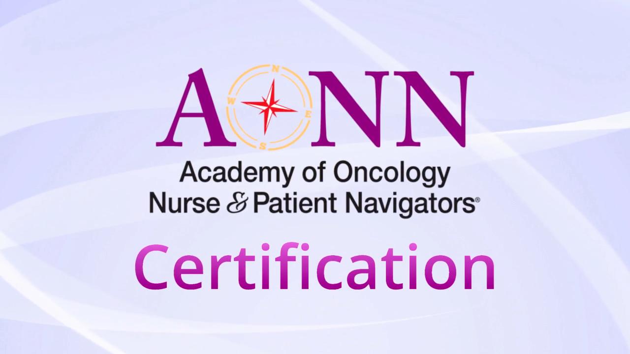 Oncology nurse navigator patient navigator certification oncology nurse navigator patient navigator certification navigator specific certifications onn cg opn cg xflitez Images